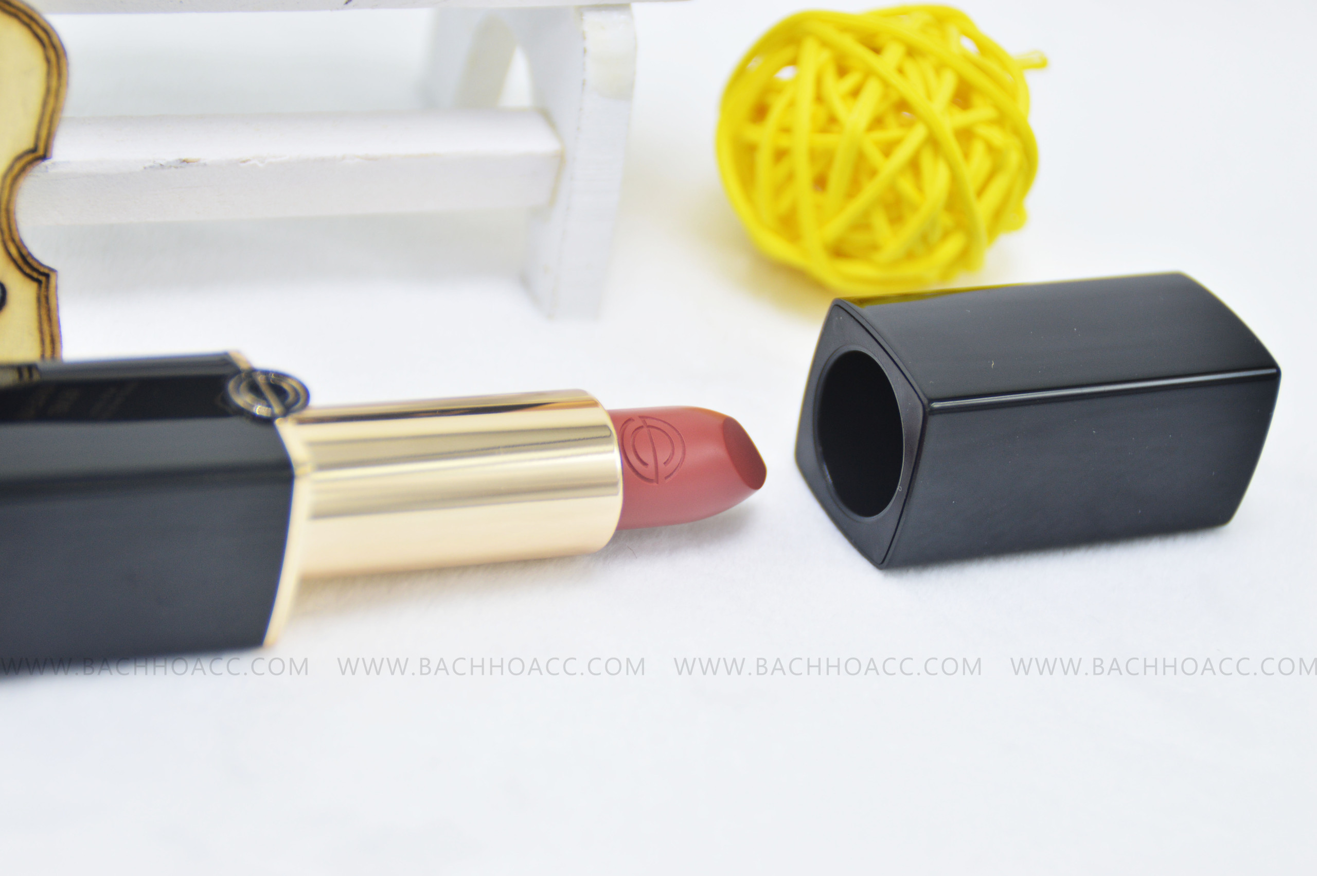 SON THỎI DERMA PURE CLINIC ROUGE PURVELVET MATTE 253 GLAM RED