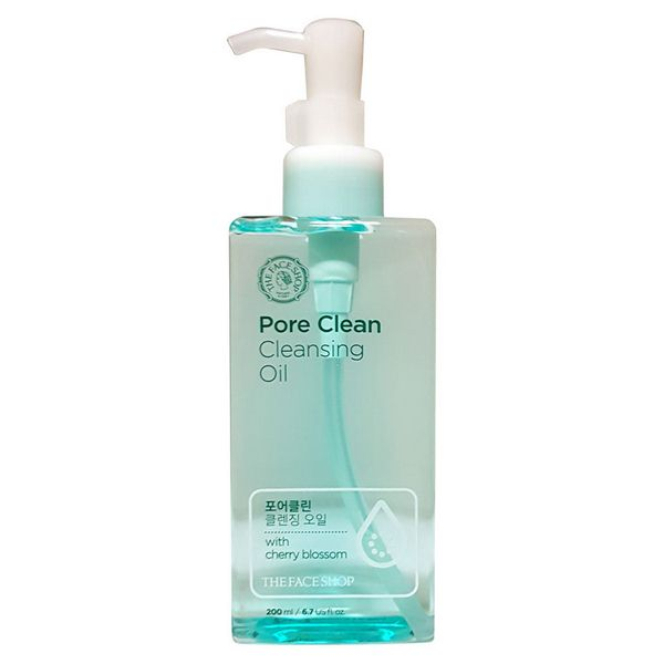 Dầu tẩy trang OS Pore Clean Cleansing Oil The Face Shop 200Ml