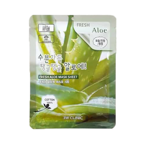 MẶT NẠ 3W CLINIC FRESH ALOE MASK SHEET