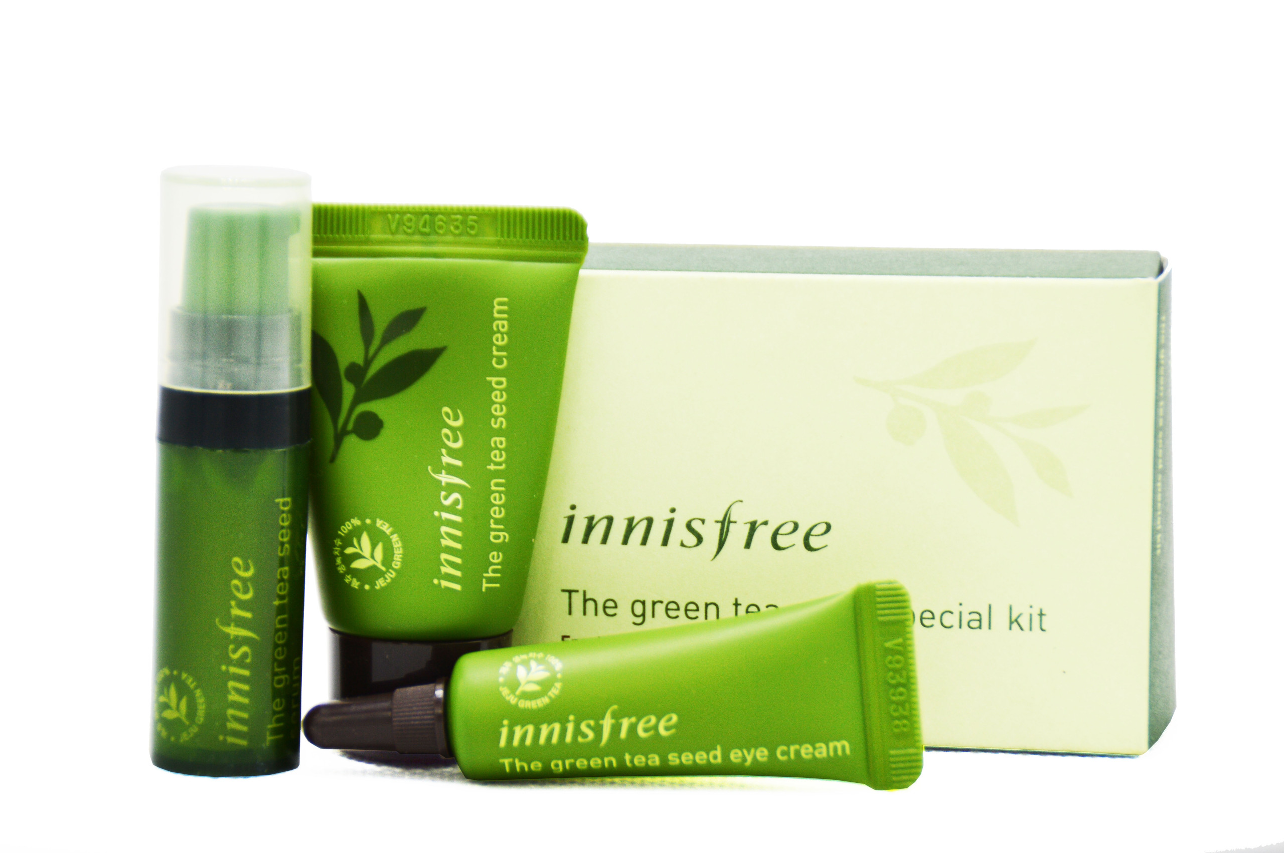BỘ KIT CHĂM SÓC DA INNISFREE THE GREEN TEA SEED SPECIAL KIT