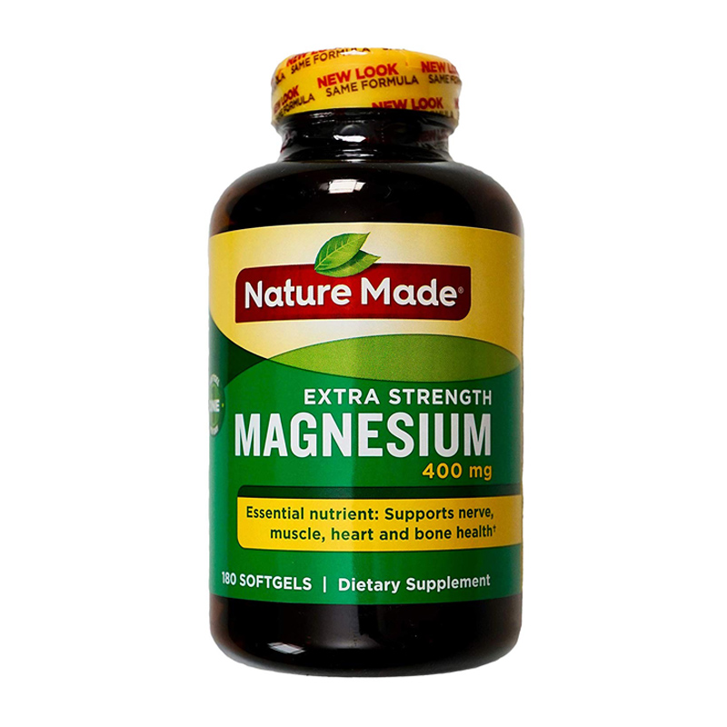 Viên Uống Nature Made Extra Strength Magnesium (250mg) Mỹ 04/2021