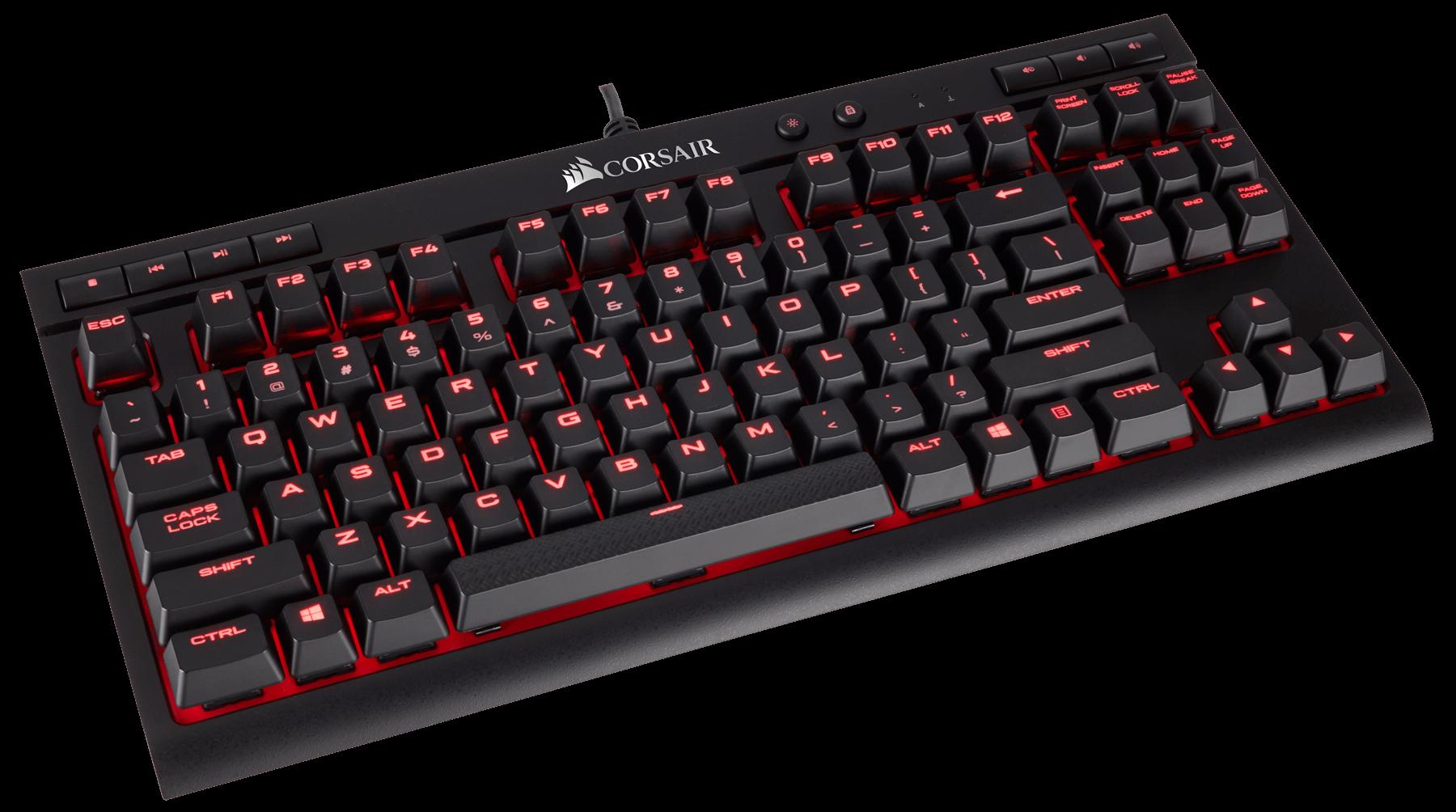 Bàn phím cơ Corsair K63 Red switch