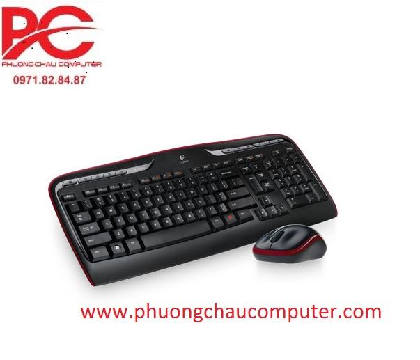 Bộ bàn phím chuột wireless Logitech MK330