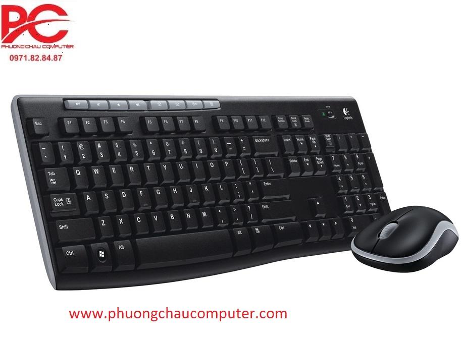 Bộ bàn phím chuột wireless Logitech MK270/MK270R