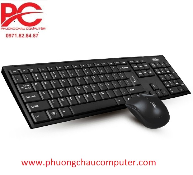 Bộ bàn phím chuột không dây Fuhlen A120G