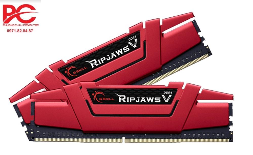 Ram GSKill RIPJAWS V 8GB (4Gx2) DDR4 bus 2133MHz - F4-2133C15D-8GVR