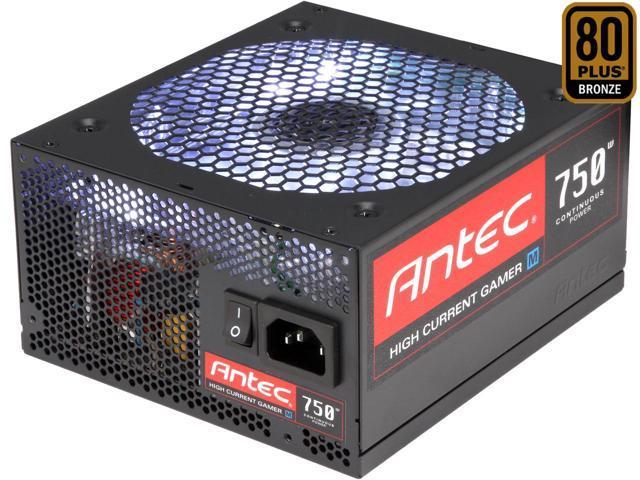Antec HCG 750M (750W) 80Plus Bronze
