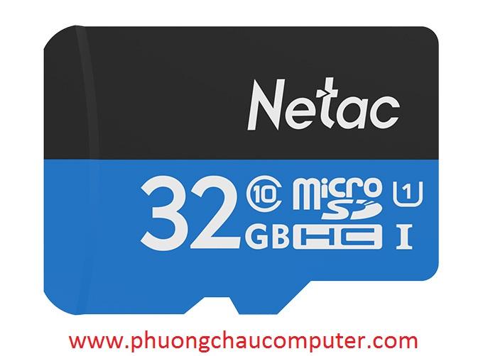 THẺ NHỚ MICRO SDHC NETAC 32GB CHÍNH HÃNG BẢO HÀNH 5 NĂM
