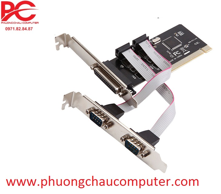 Card PCI to RS232 Com + LPT