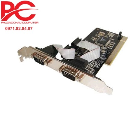 Card PCI to Com RS232 Unitek