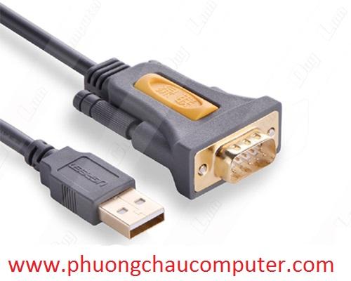 Cáp chuyển USB sang RS232 (DB9) dài 3m Ugreen 20223