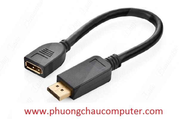 Cáp Displayport nối dài 1 đầu âm 1 đầu dương chính hãng Ugreen 20407