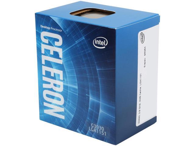 CPU Intel Celeron G3930 2.9 GHz / 2MB / HD 600 Series Graphics / Socket 1151 (Kabylake)
