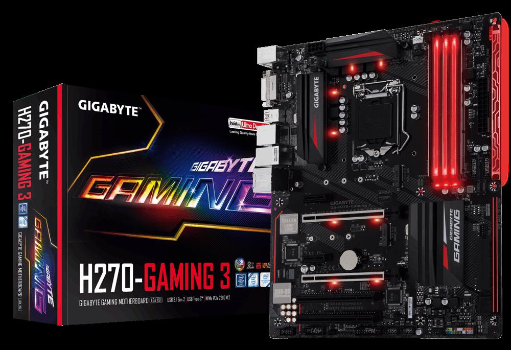 Mainboard GIGABYTE H270 Gaming 3