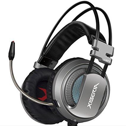Tai nghe Xiberia V10 Grey Jack 3.5mm