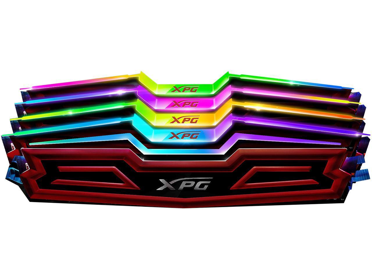 RAM ADATA 16GB (2x8GB) RGB DDR4 3000MHz XPG SPECTRIX D40