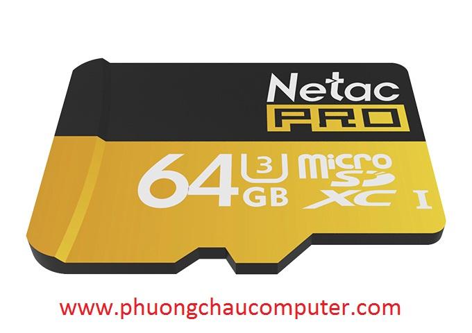 THẺ NHỚ MICRO SDHC NETAC 64GB CHÍNH HÃNG BẢO HÀNH 5 NĂM
