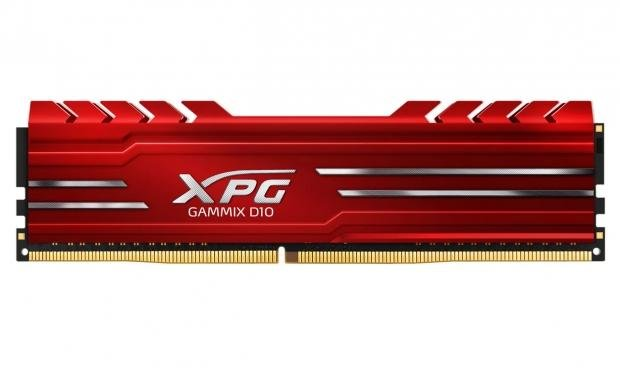 RAM ADATA XPG GAMMIX D10 8GB DDR4 2400 tản nhiệt (Đỏ)