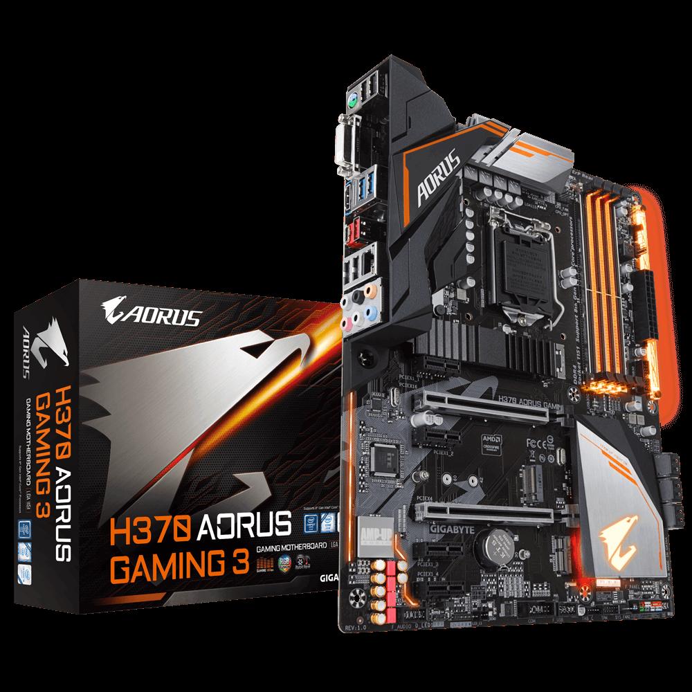 Mainboard Gigabyte GA-H370 Aorus Gaming 3