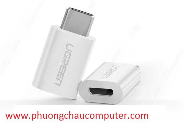 Đầu chuyển USB Type C sang Micro USB Ugreen 30154