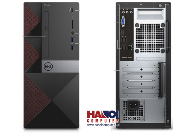 Máy tính để bàn Dell Vostro 3668MT MTI71116-8G-1T-2G