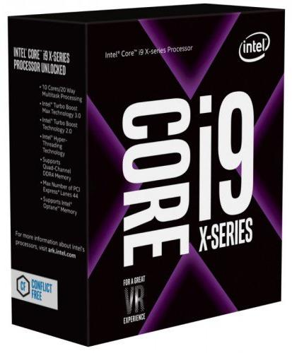 CPU Intel Core i9 7900X 3.3GHz Upto 4.3GHz/ 13.75 MB / Socket 2066