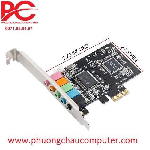 Card PCI E to sound 5.1 Ex