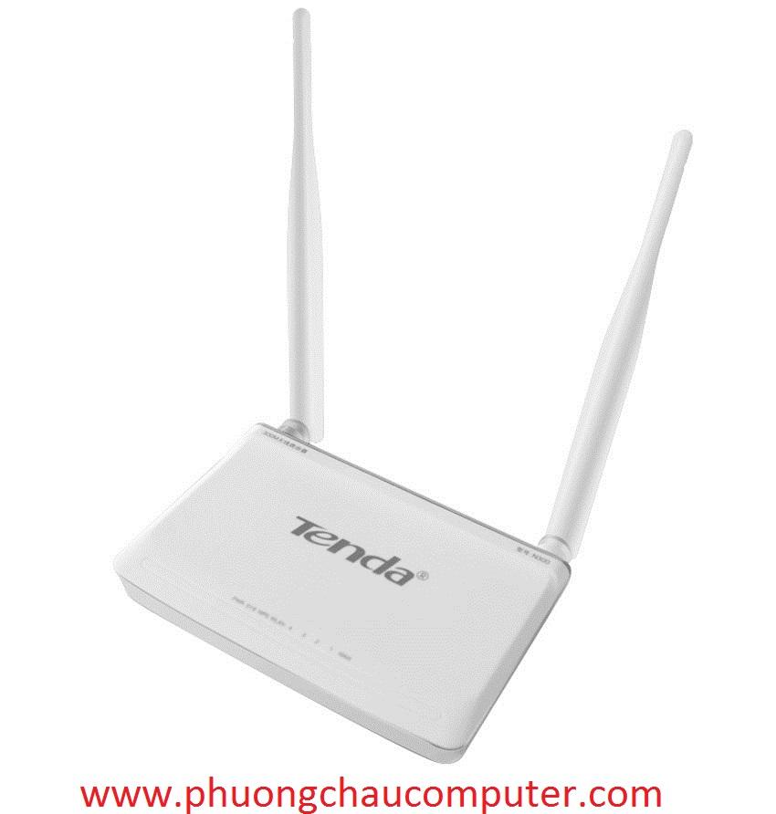 Bộ phát wifi Tenda 2 râu chuẩn tốc độ 300Mps N301