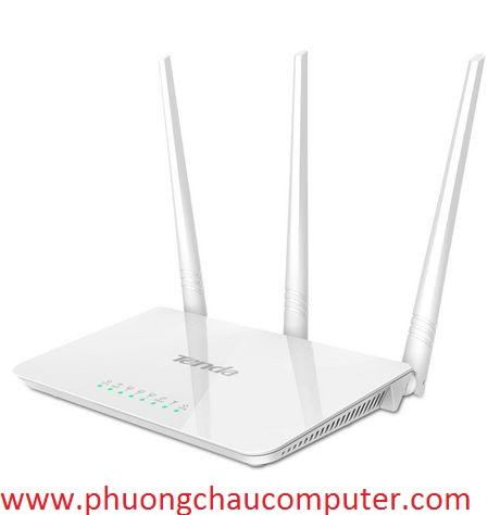 Bộ Thiết Bị Phát Wifi Tenda F3 3 Râu Phát Sóng Cực Khỏe