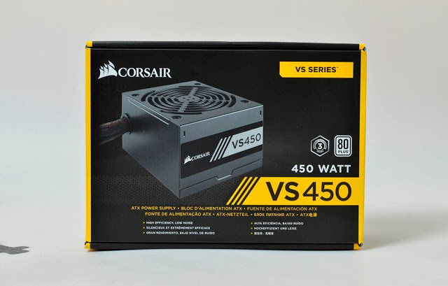 corsair VS 450W 80 PLUS White Certified PSU