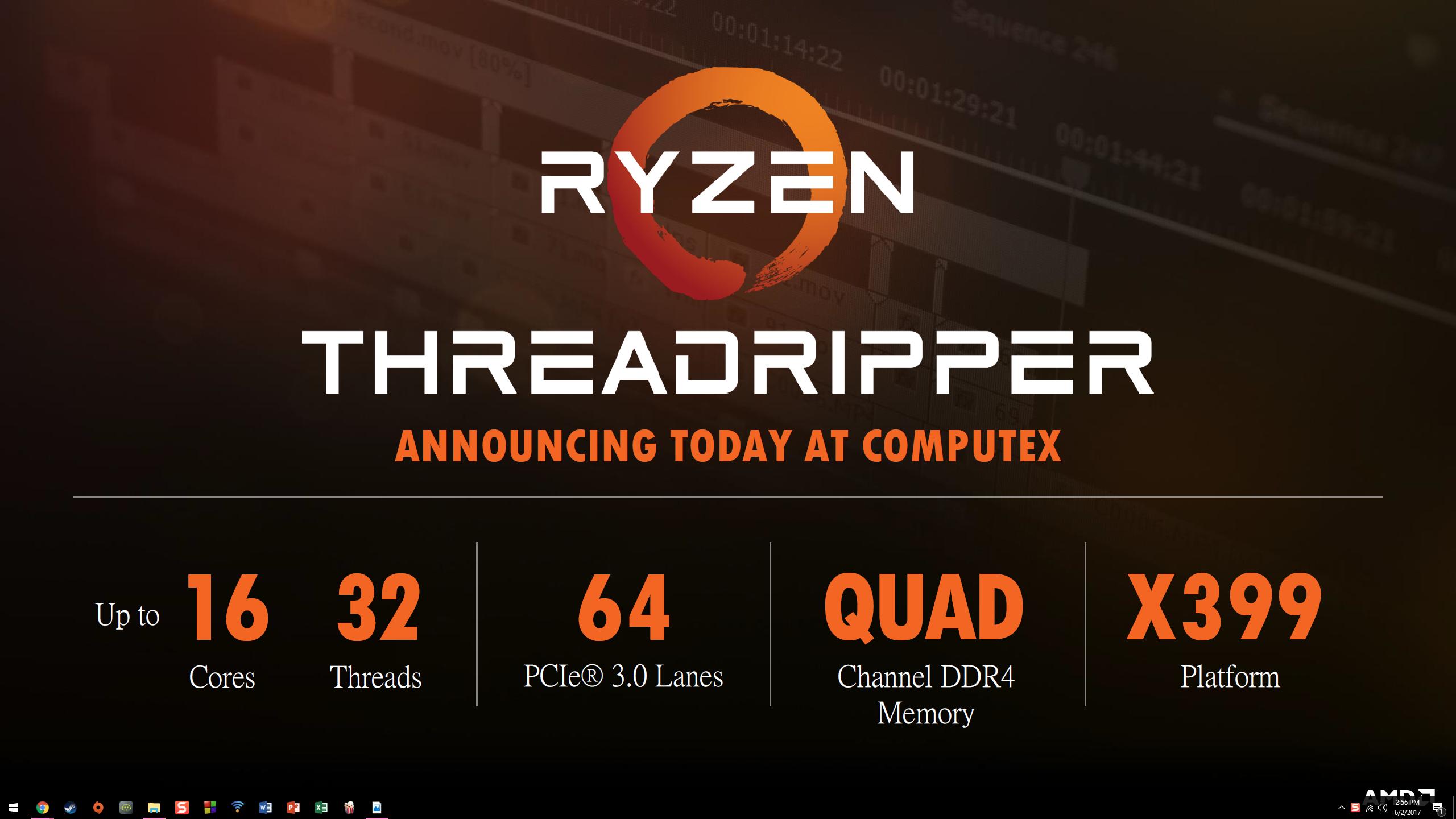 CPU AMD Ryzen Threadripper 1950X (3.4 Upto 4.0GHz/ 32MB/ 16 cores 32 threats/ TR4)