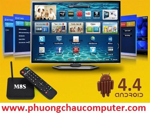 Android Tivi Box M8S Amlogic S812 chính hãng - Hỗ trợ độ phân giải cao Full HD 1080p, 4K