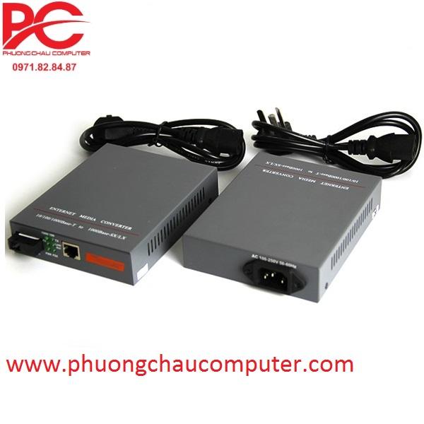 Bộ chuyển đổi quang điện Gigabits 10/100/1000Mbps 20KM NetLink HTB-4100AB