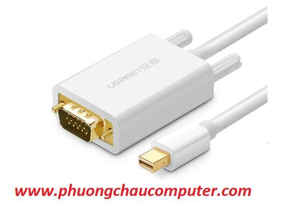 Cáp Mini Displayport to VGA 1,5M Ugreen 10410 Cao Cấp