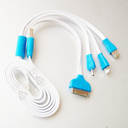 Dây cáp sạc USB đa năng 4 đầu