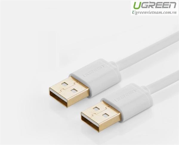 Cáp USB 2.0 Hai Đầu Dương 3M Chính Hãng Ugreen 30135
