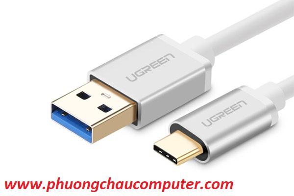 Cáp USB 3.0 sang Type C dài 0.5m Cao cấp Ugreen 30465