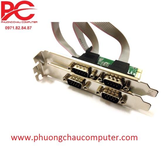 Card PCI Express to 4 COM