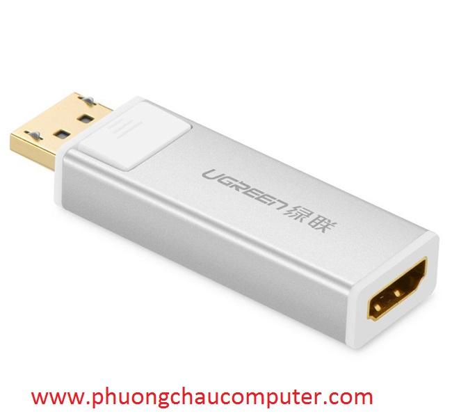 Đầu chuyển đổi DisplayPort to HDMI chính hãng Ugreen 20413