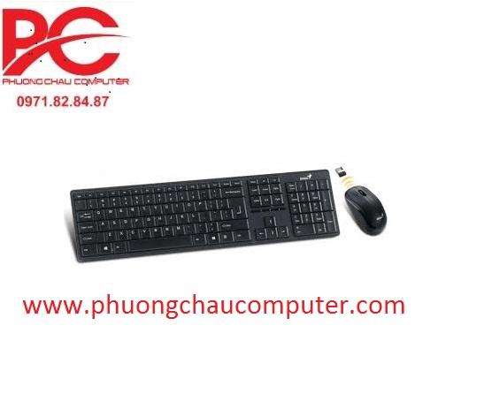 Bộ bàn phím chuột wireless Genius 8000