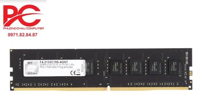 Ram Gskill 4GB DDR4 2400MHz F4-2400C17S-4GNX