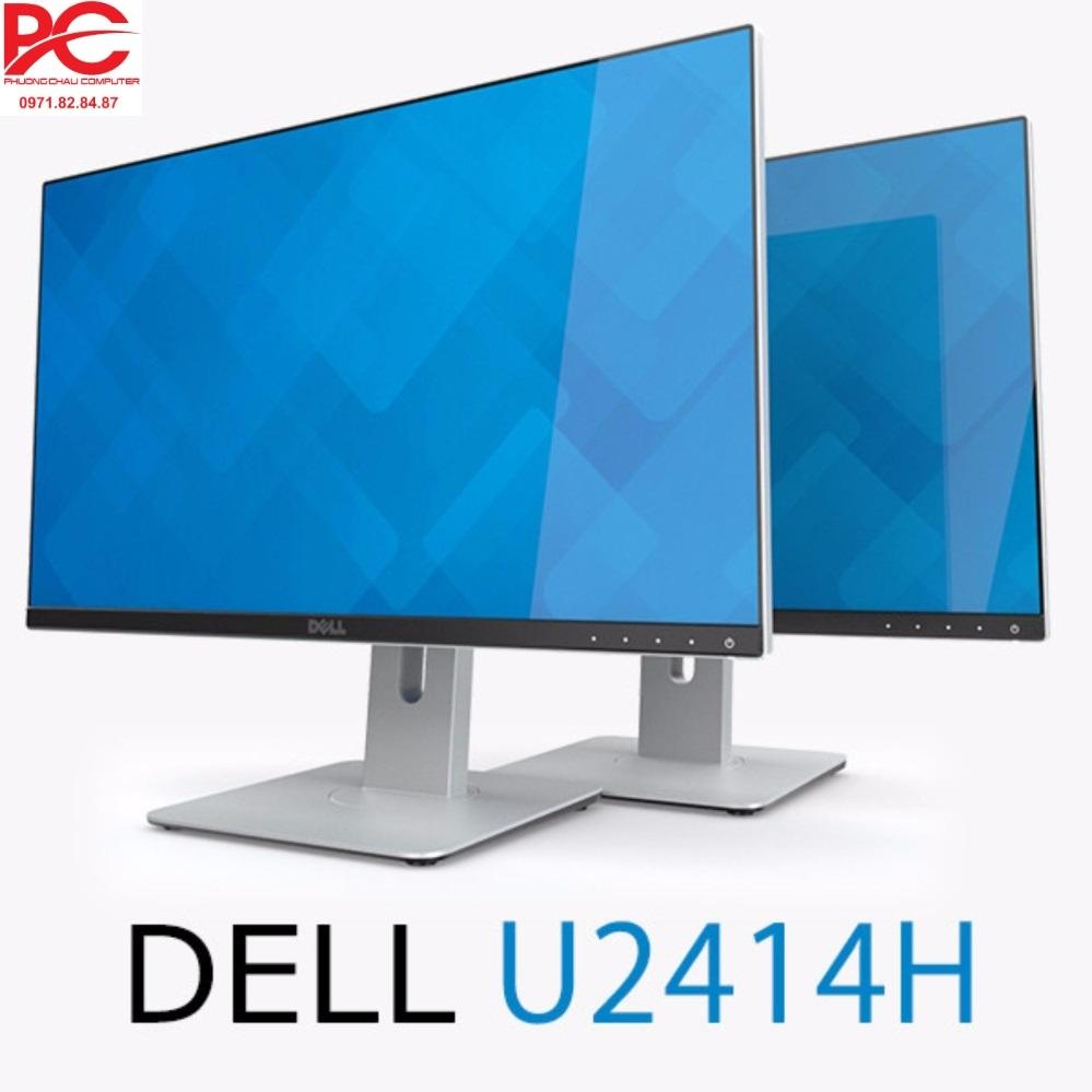 Màn hình máy tính Dell U2414H UltraSharp 23.8 inch IPS Borderless Không viền