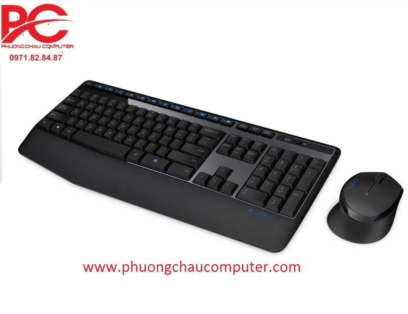 Bộ bàn phím chuột wireless Logitech MK345