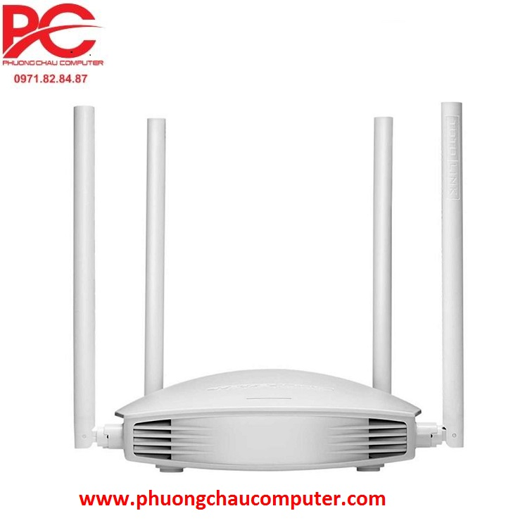 Router wifi chuẩn N Totolink N600R 4 râu