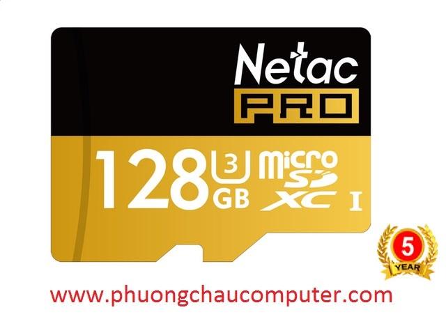 THẺ NHỚ MICRO SDHC NETAC 128GB CHÍNH HÃNG BẢO HÀNH 5 NĂM