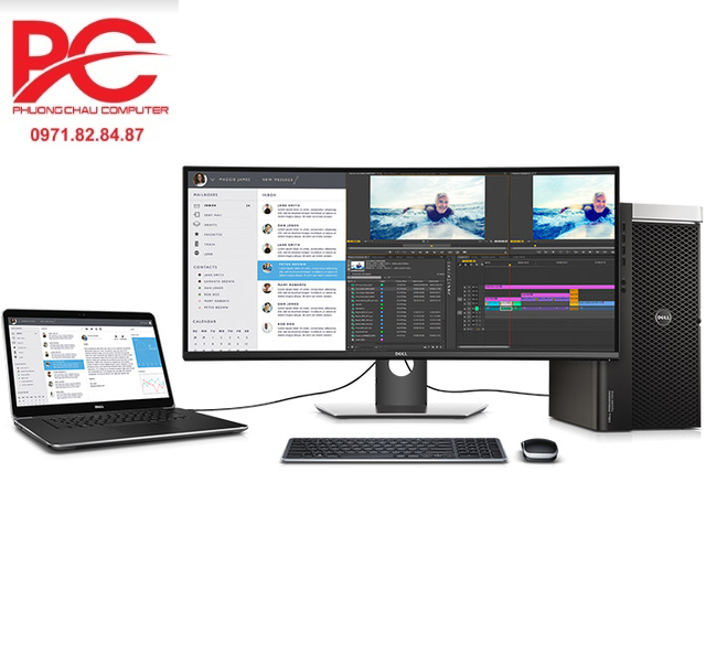 Màn hình máy tính Dell Ultrasharp UP2516D 25 inch - Có điều khiển từ xa