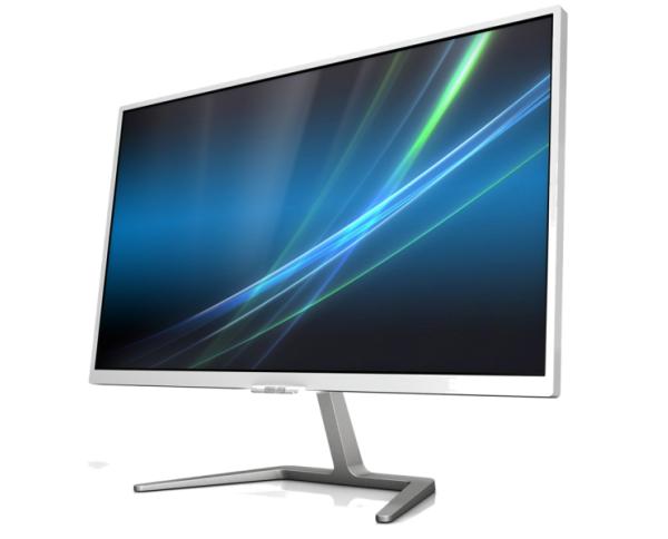 Màn hình máy tính Philips 246E7QDSW - LED 23.6 inch màu trắng