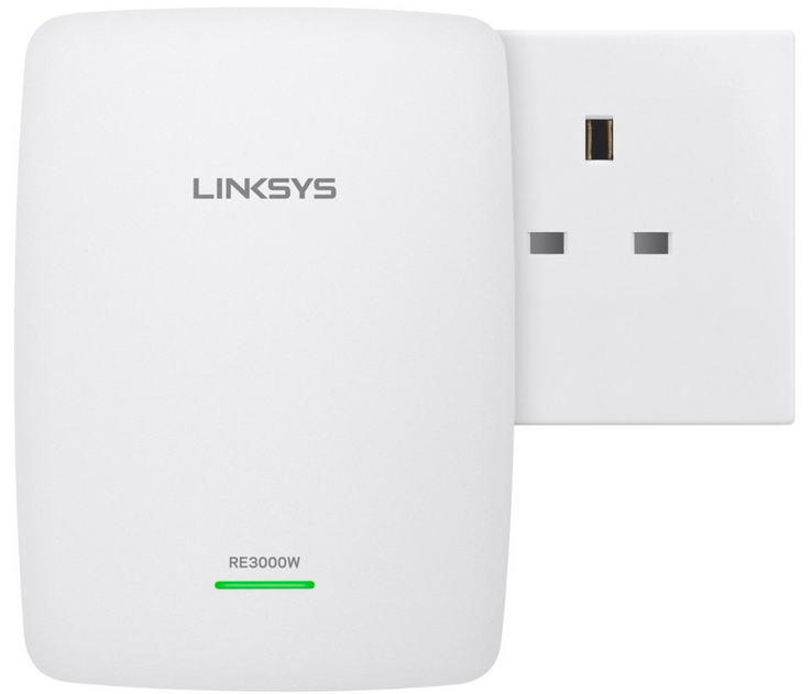 LINKSYS RE3000W N300 WIRELESS RANGE EXTENDER