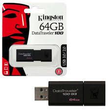 Kingston 64GB DT100G3 USB 3.0