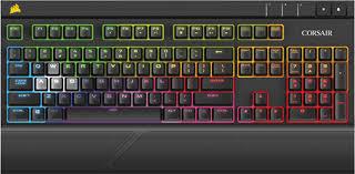 Bàn phím cơ Corsair STRAFE RGB Red switch